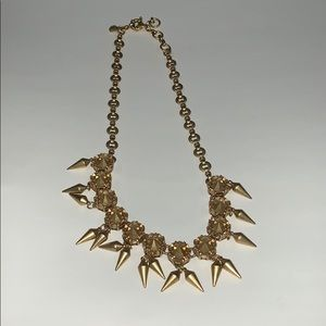 Super cute fun chunky gold J. Crew necklace